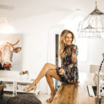 kitchen wooden balcony - Cute Spring Styles Under $30 featured by popular Indianapolis fashion blogger, Karina Style Diaries