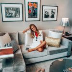 Conrad Indianapolis pop suite featured by popular life and style blogger, Karina Style Diaries