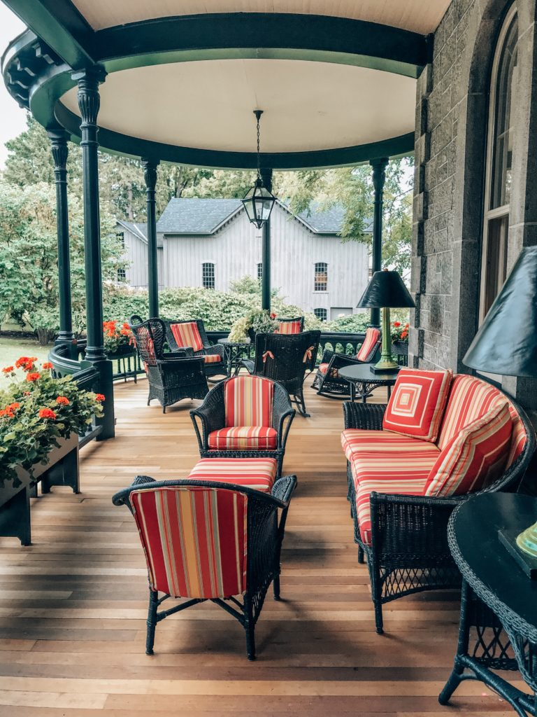 E.B. Morgan House - Inns of Aurora | MacKenzie Childs New York Press trip featured by popular Indianapolis travel blogger, Karina Style Diaries